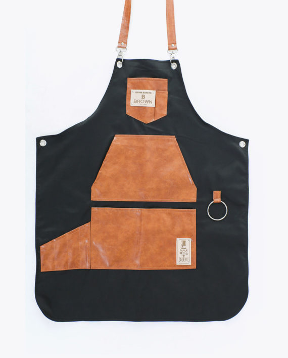 Fancy Gents Apron Brown Bar