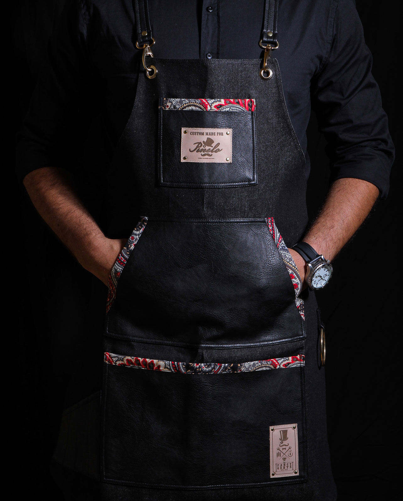 Fancy Gents Apron Pinelo