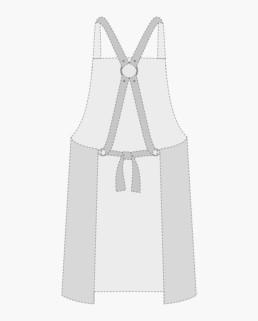 Removable Cross Harness