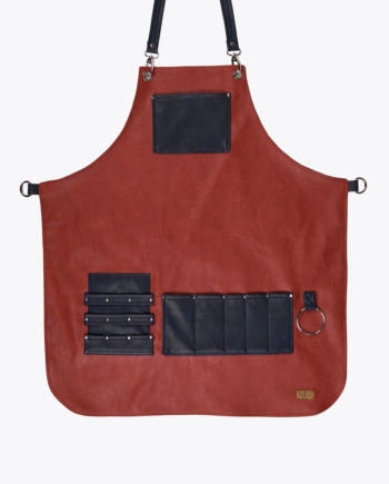 Highlander Red Apron - Fancygents