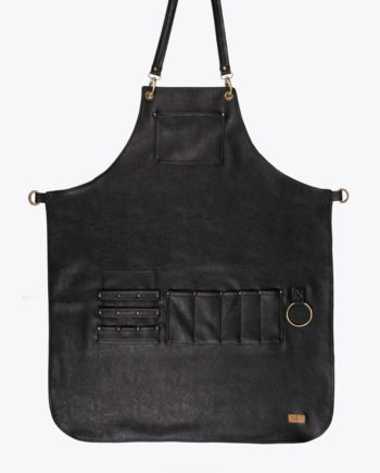 Highlander Total Black Apron - Fancygents