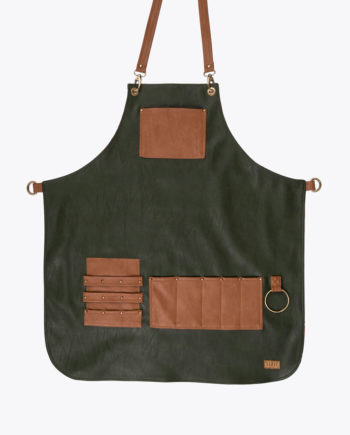 Highlander Olive Green Apron - Fancygents