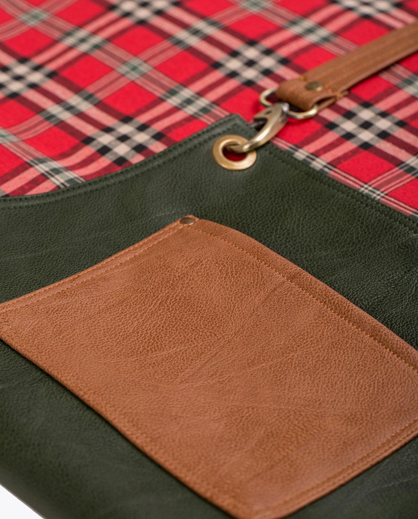 Highlander Olive Green Apron - Fancygents