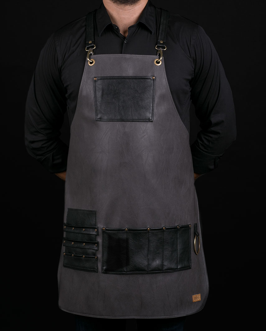 Highlander Grey Apron - Fancygents