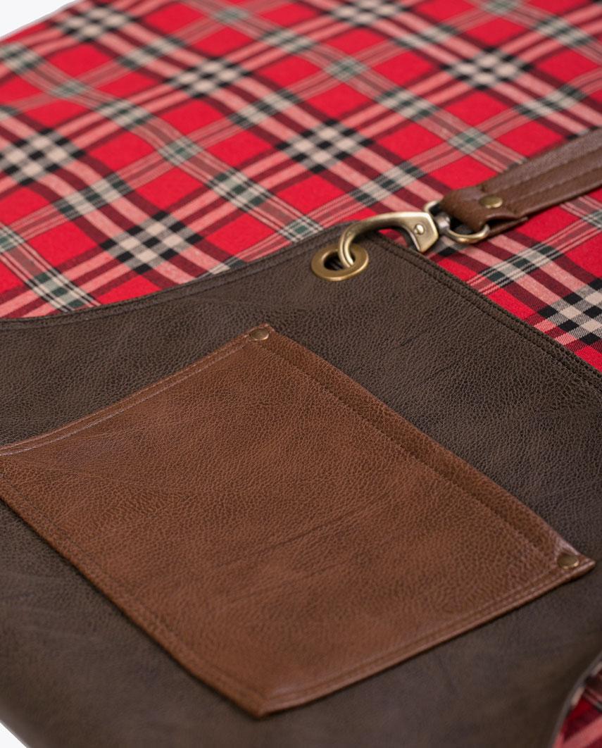 Highlander Dark Brown Apron - Fancygents