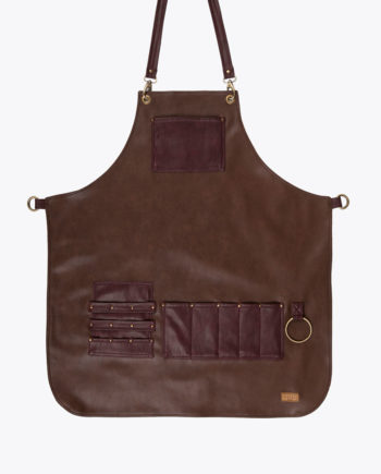 Highlander Chocolate Brown Apron - Fancygents