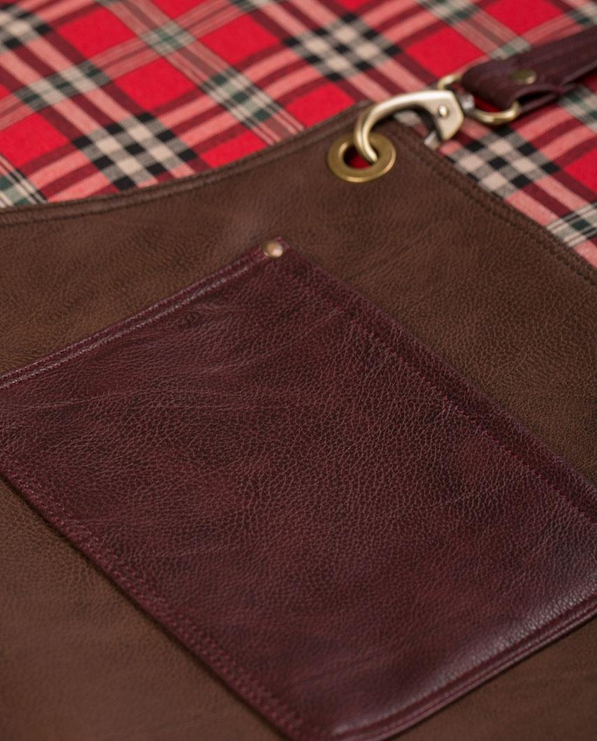 Highlander Chocolate Brown Apron - Fancygents